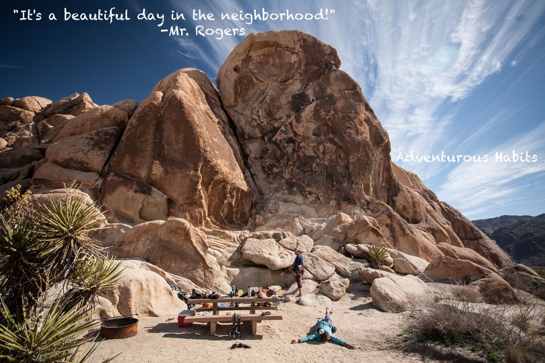 Joshua Tree Mr. Rogers Quote
