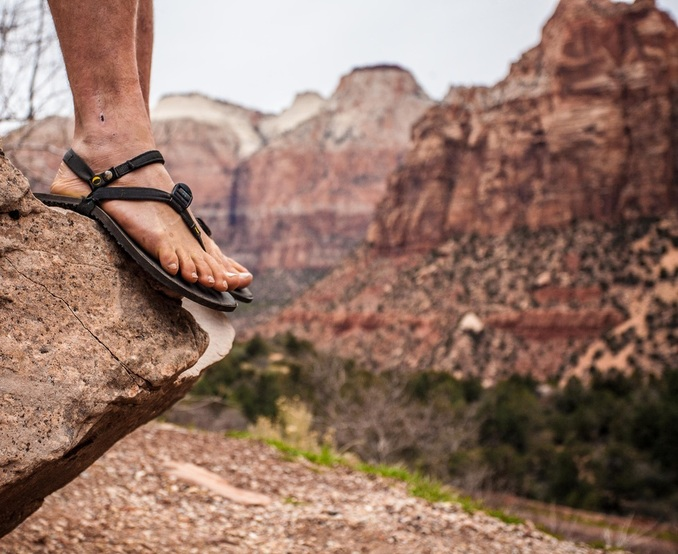 The Guide To Minimalist Sandals Adventurous Habits The